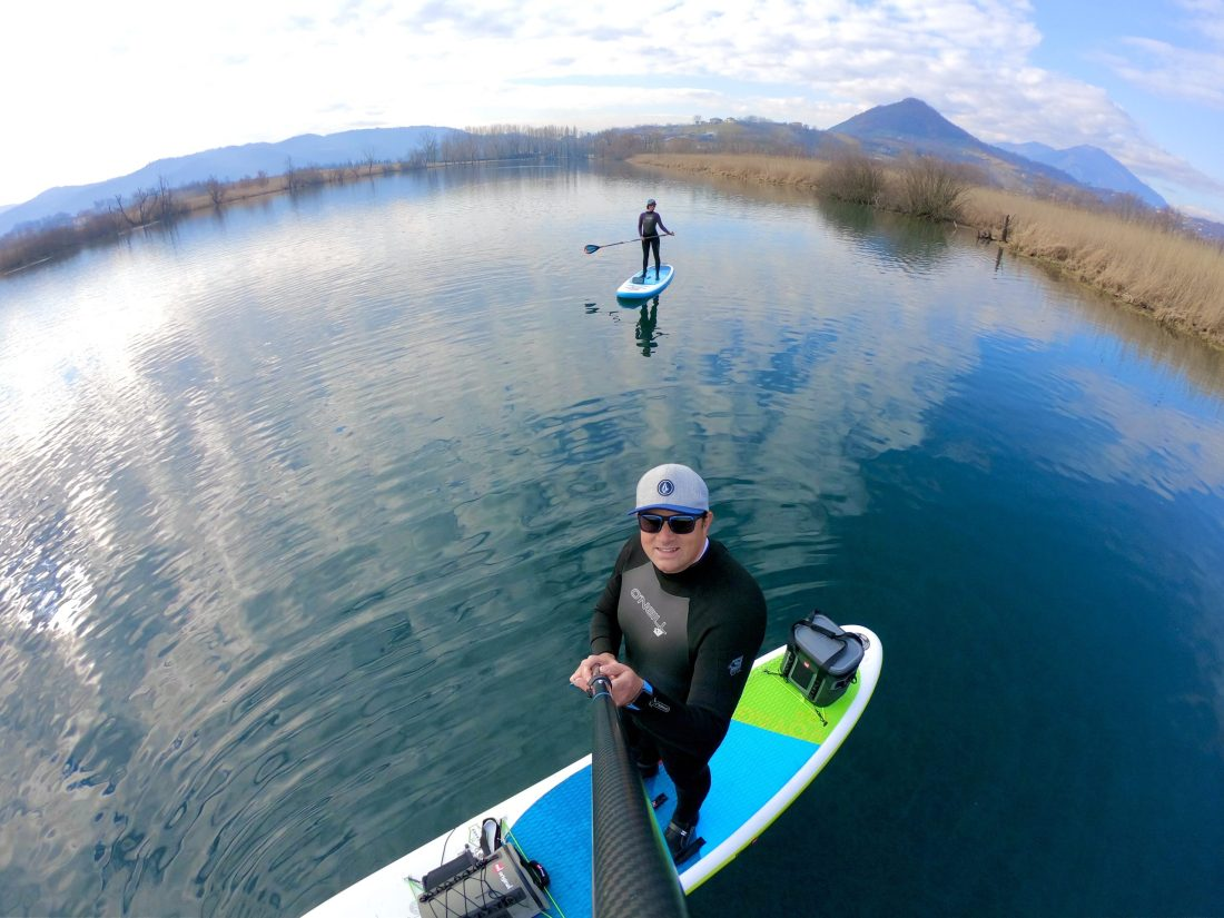 Lago di Posta Fibreno in paddle board, red paddle&co, trevaligie