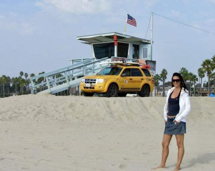Pacific beach , San Diego, California on the road, trevaligie
