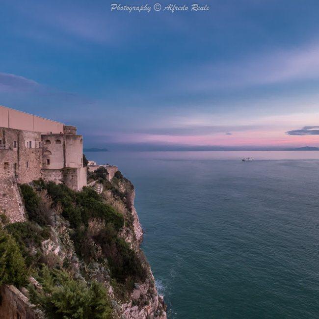 Il Castello Angioino Aragonese di Gaeta, visita nelle prigioni dell'ex carcere militare.