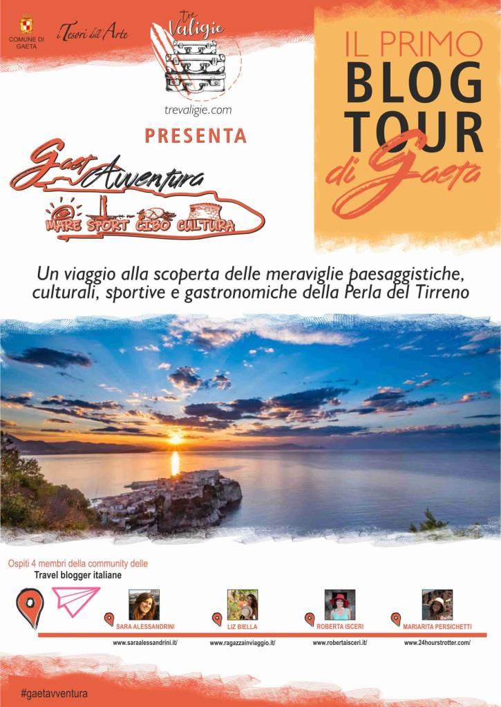 GaetAvventura, mare, sport, cibo e cultura. Il primo blog tour nella città di Gaeta.