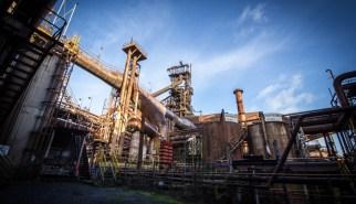HFB Industrial Site Blast Furnace - Belgium