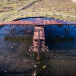 RAF Greenham Common Silo Bunker - Drone
