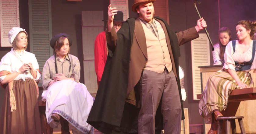 Oliver! takes stage in renovated auditorium