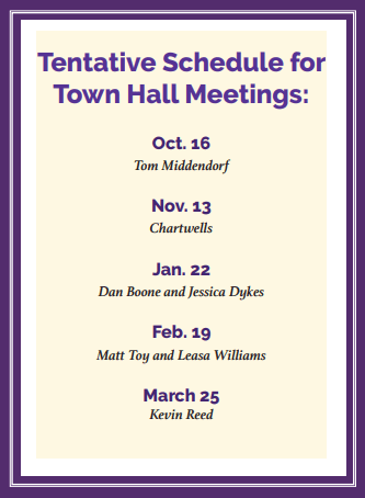 town hall meeting document
