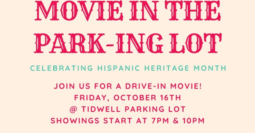 Commuter council to host drive in-movie in celebration of Hispanic Heritage Month