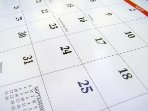 WordPress Calendar of Events