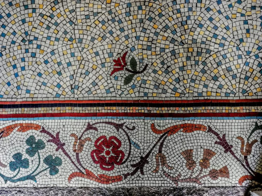 Mosaic in Entrance Hall