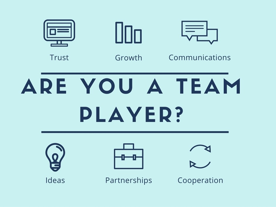 how to be a team player blog post