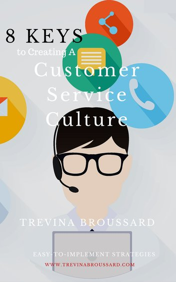 8 keys to customer service culture ebook cover