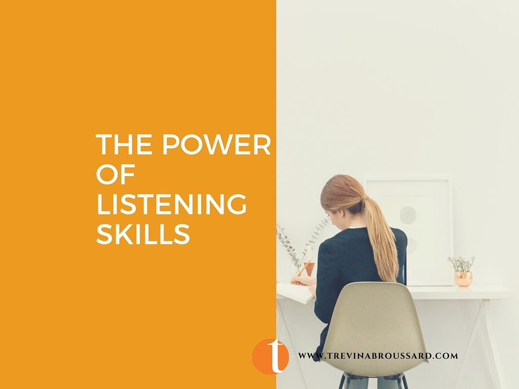 The Power of Listening Skills