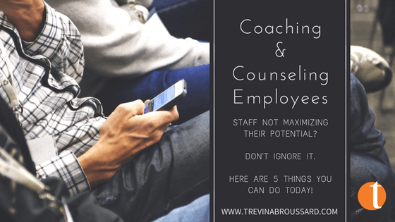 coaching and counseling employees