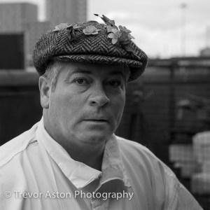 Portrait - Billingsgate Fish Market porter