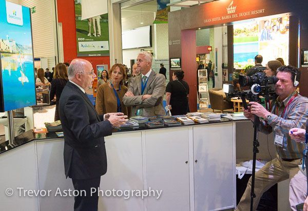 World Travel MArket. Excel London photography