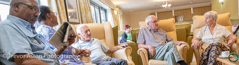 care home editorial photography