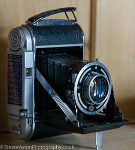 Take Better Photos in Teddington - old bellows camera