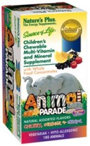Animal Parade Childrens Vitamins by Natures Plus