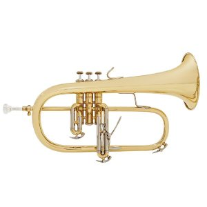 Bach 183G Stradivarius Flugel Horn Gold Brass Bell