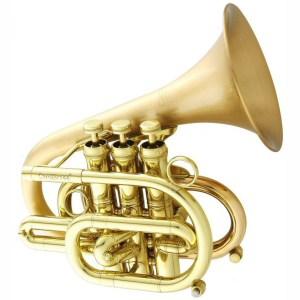 CarolBrass 7000 GLS Legend Heavy Pocket Trumpet Squre