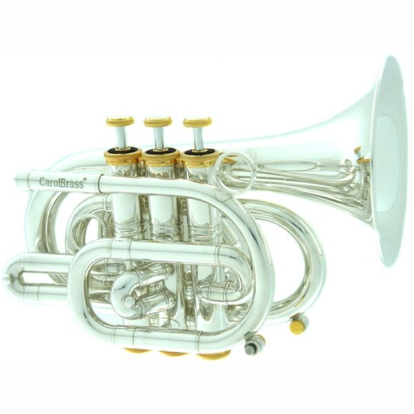 CarolBrass CPT 3000 GLS Bb SG Pocket Trumpet