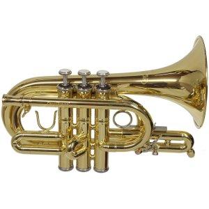 CarolBrass CPT 4000 YLS C L Pocket Trumpet