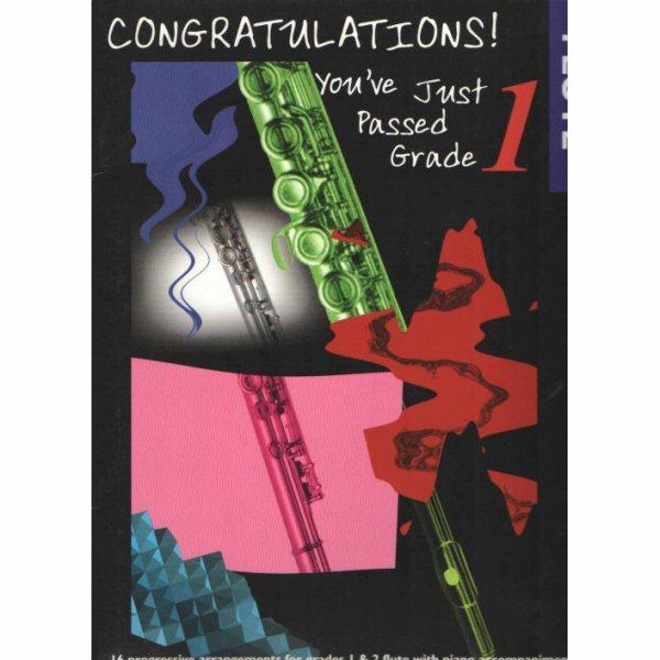 Congratulations flute grade 1