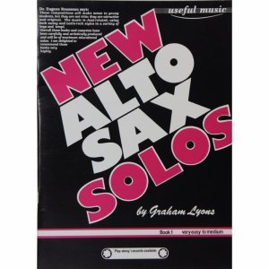 New Alto Sax Solos Book 1