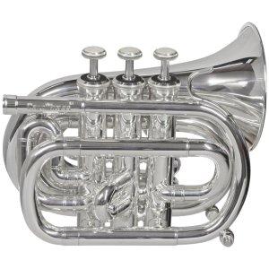 CarolBrass CPT-1000-YSS-Bb-S Mini Pocket Trumpet