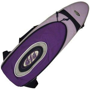 'Gig' soprano sax gig bag - purple