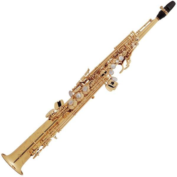 Selmer Paris S80 Series II-125 Soprano Saxophone Jubilee Model