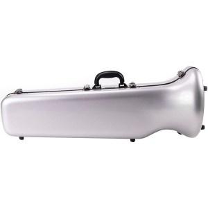 Eastman fibreglass bass trombone case silver