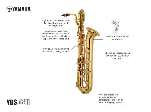 Yamaha YBS-62II Baritone Saxophone