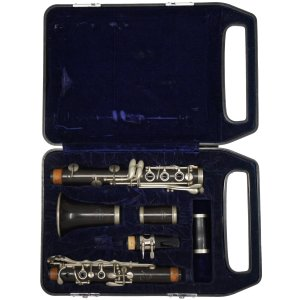 Pruefer Silver Throat Deluxe Clarinet Case