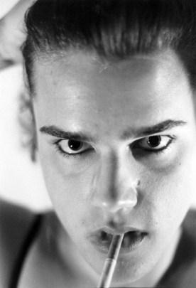 Self-Portrait as Helmut Newton
