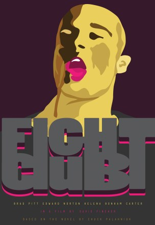 """Poster for """"Fight Club"""""""