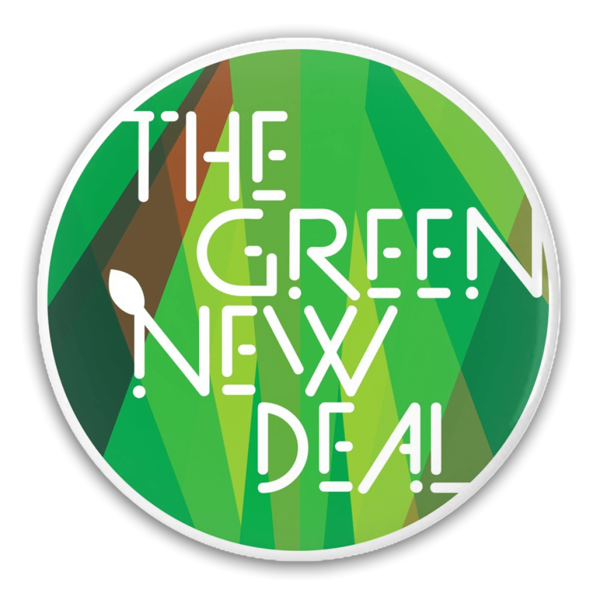 """The Green New Deal"" Button"