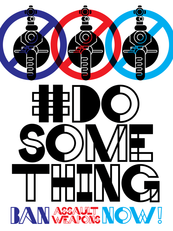 """""""#dosomething"""" Poster for Creative Action Network"""