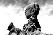 Balanced Rock, Arches National Park, Utah.