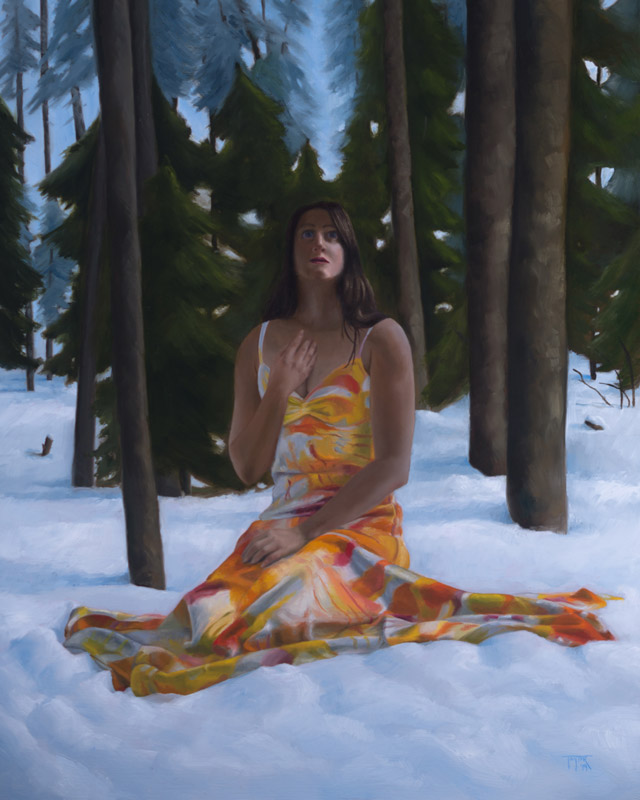 Rapture of Spring - Oil Painting