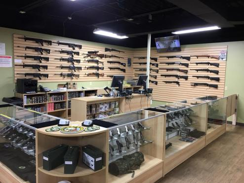 We carry all major handgun, rifle and shotgun manufacturers. We can also special order items that are currently not in stock based on availability.