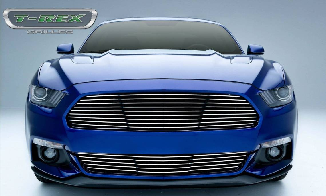 Ford Mustang Gt Laser Billet Grille Main Replacement