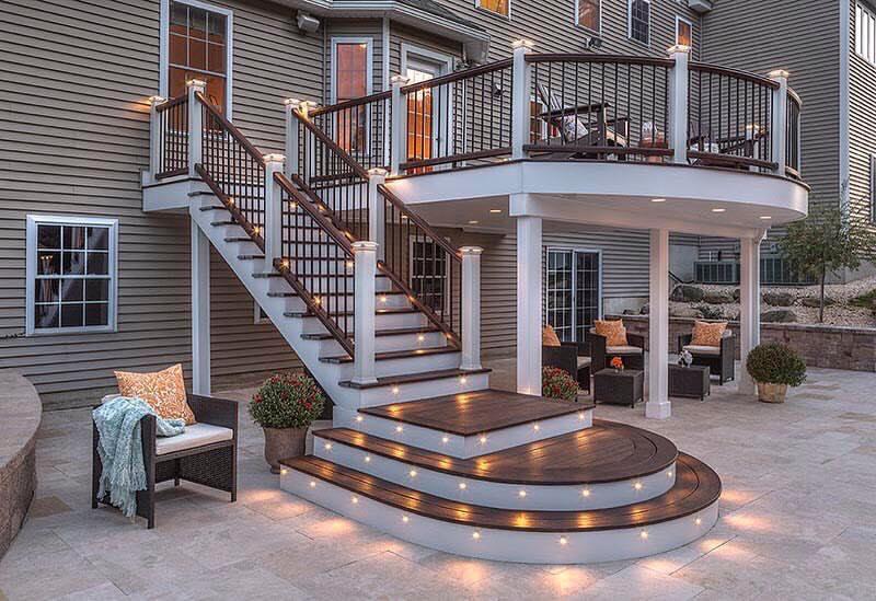 Treated Deck Railing Ideas