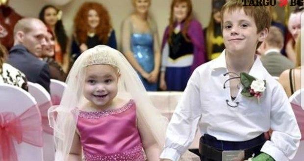 5-годишно момиченце се омъжи и почина