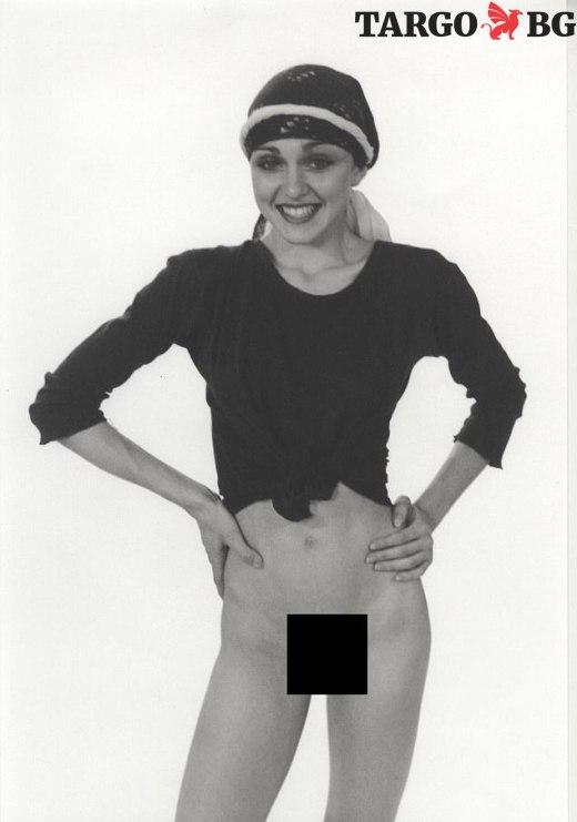 Непоказвани снимки на Мадона