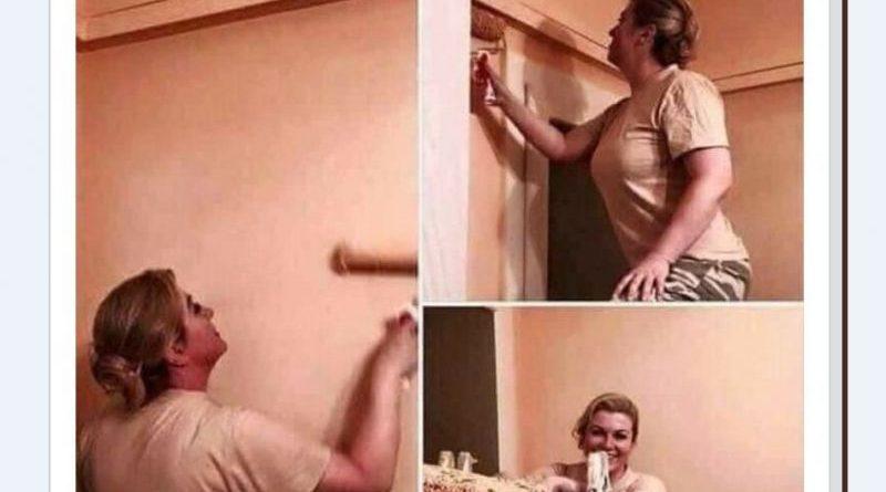 Колинда боядисва сама апартамента си