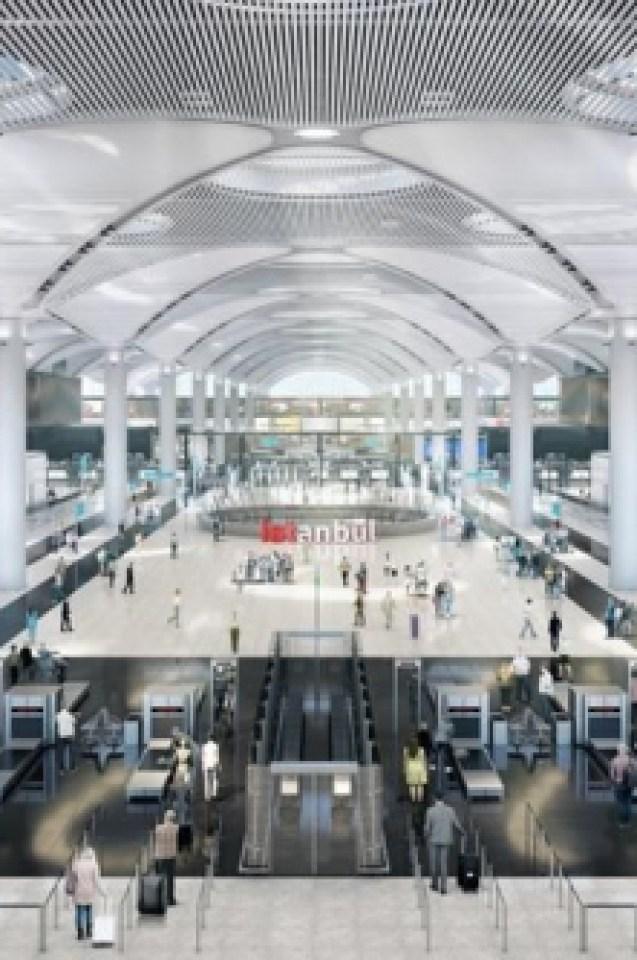 Новото летище на Истанбул събра очите на цял свят (СНИМКИ)