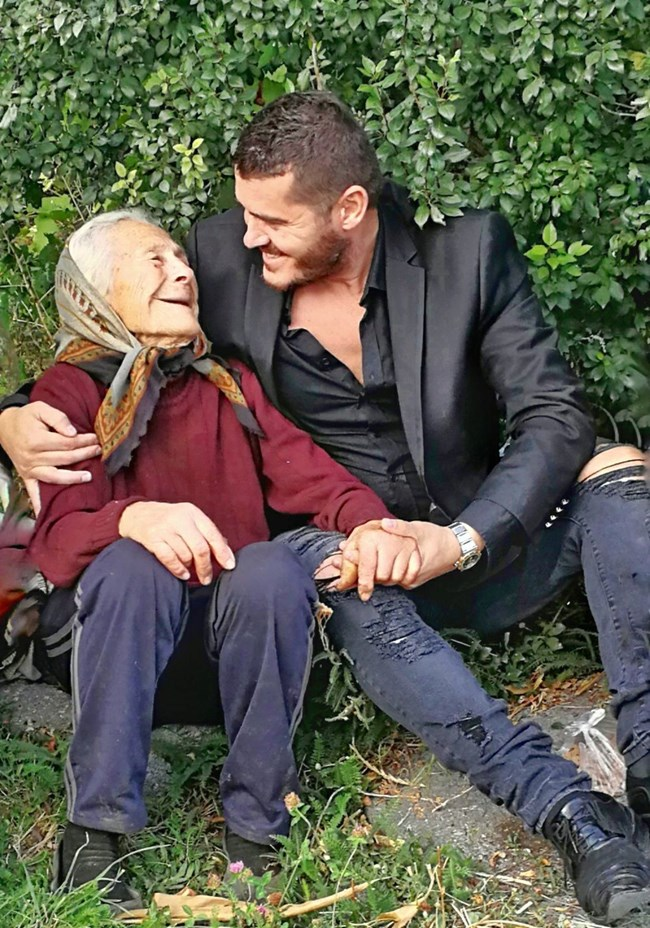 Лео Кадели и баба Недка