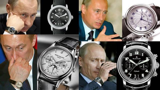 Часовниците на Путин