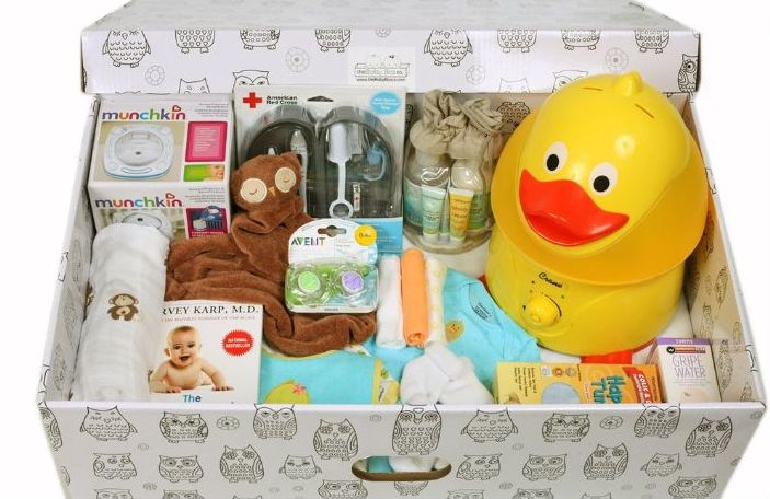 Бебешка кутия Финландия