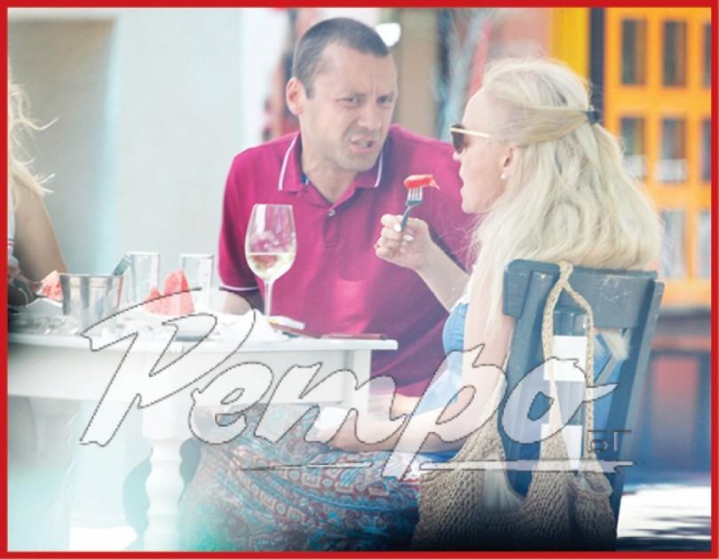 Гена Трайкова пие от обяд