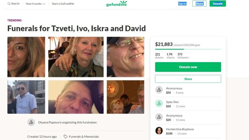 22 хиляди долара за погребенията